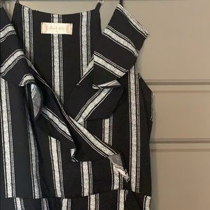 Altar'd State, never worn black and white dress, M